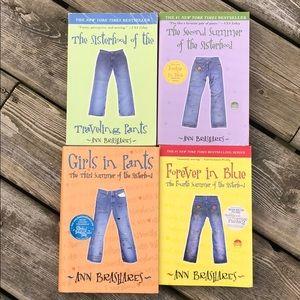 Sisterhood of the Traveling Pants Books 1-4